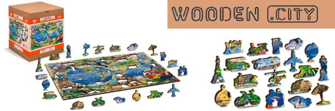 Wooden City Puzzels