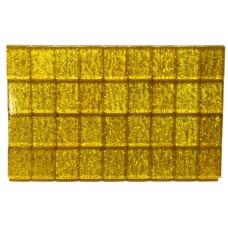 Mah-Jong,Tiles white/gold Urea,case green