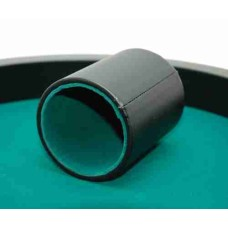 Dice-cup Pro.black Vinyl straight 10x8 cm 