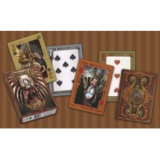 Pokercards Anne Stokes Steampunk Bicycle * delivery time unknown *