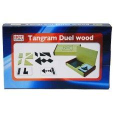 Tangram double natur.wood case+60 cards.