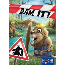 Dam It ! Beaver Cardgame - Huch! EN/NL/FR/DE