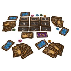 Djinn - Huch!, Cardgame EN/ NL/ FR/ D.