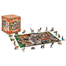 Wooden puzzle Nap Time XL 600