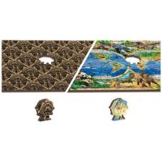 Wooden puzzle Animal Kingdom Map XL 600
