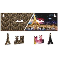 Wooden puzzle Paris by Night XL 600