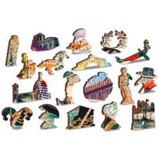 Wooden puzzle Venice carnival XL 600
