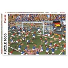 Puzzle Soccer,Ruyer,Comic 1000 pcs.Piatnik