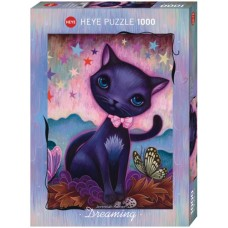 Puzzle Black Kitty,Dream.1000 Heye 29687