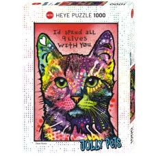 Puzzle 9 Lives, Jolly Pets 1000 Heye 29731