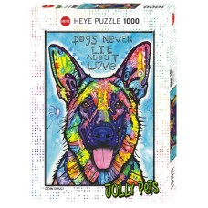 Puzzle Dogs Never Lie 1000 pc.Heye 29732