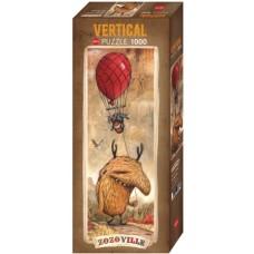 Puzzle Red Balloon 1000 Vertic.Heye 29743