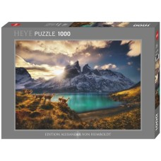 Puzzle Guanacos 1000 pcs. Heye 29815 * delivery time unknown *