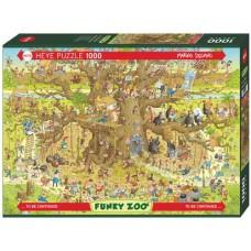 Puzzle Monkey Habitat 1000 Heye 29833
