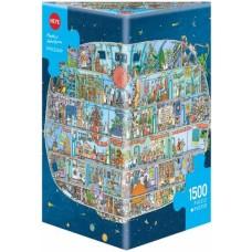 Puzzle Spaceship 1500 pc.Tri. Heye 29841