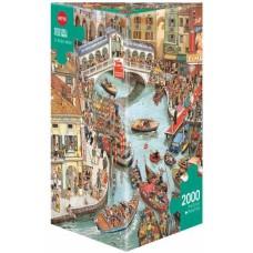 Puzzle O Sole Mio 2000 Triang.Heye 29843