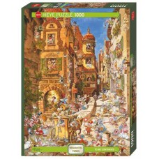 Puzzle Romantic Town Day 1000 Heye29874