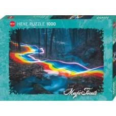 Puzzle Rainbow Road M.F.1000 Heye 29943 NEW