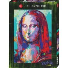 Puzz.Mona Lisa,Peopl.1000 Heye 29948 NEW