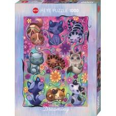 Puzz.Kitty Cats,Dream.1000 Heye 29955 NEW