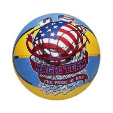 Basketball Mini Magic Team Size 3 rubber