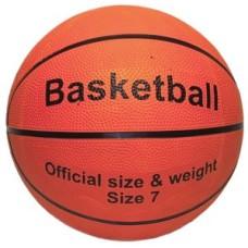 Basketbal oranje, maat 7 rubber official size * levertijd onbekend *