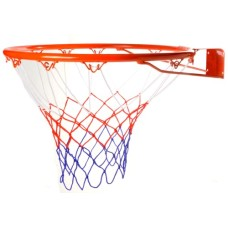 Basketbal-RING 20 mm. holle buis met net