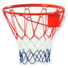 Basketbal-ring-Net rood/wit/blauw nylon HOT