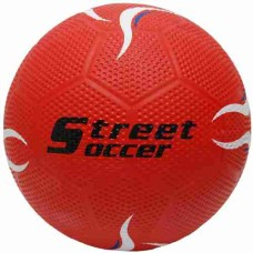 Street-Football/Soccerball Rubber Size 5 red