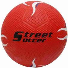 Voetbal Rubber Straat maat 5 Rood
