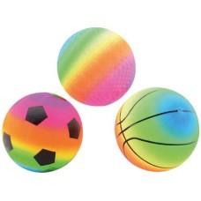 Voetbal Regenboog maat 5,3ass