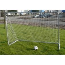 Soccergoal 300×205×120cm.Silver 38mm.