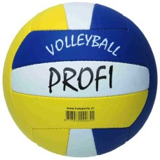 Volleybal Beach PROFI  wit/geel/blauw
