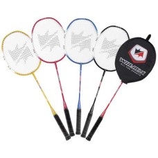 Badminton Racket Pro. Alu w.steel shaft