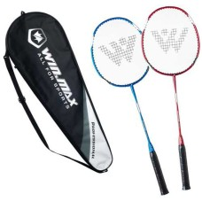 Badminton-SET Pro. Alu frame with steel shaft
