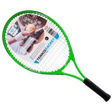 Tennisracket Jr.Alu.frame 64 cm. 2 kleuren ass