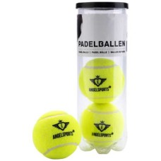 Padelballs 3 in gas filled cilinder
