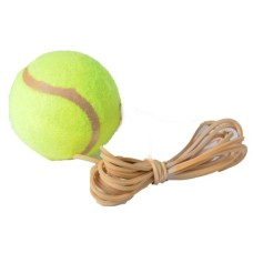 Tennisball with elastic f. tennistrainer