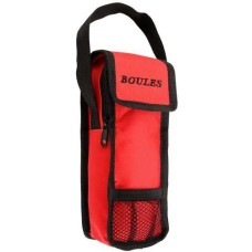 Bag for 3 Boules-balls  Red. (without balls)