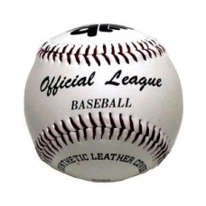 Baseball PVC cover WHITE stitched