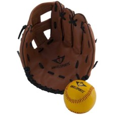 Baseball glove set with ball in blister * delivery time unknwon *