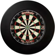 Dartboard Surround BLACK HOT 12x3.5 cm.