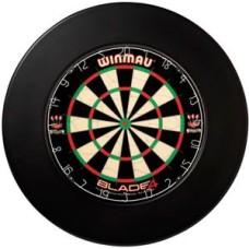 Dartboard surround black Winmau 12x3.5cm