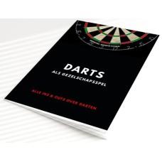 Darts spelregelboekje Ned. BTW.9 procent