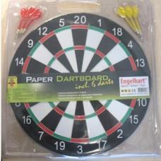 Dartboard, thin 42,5 cm in blister