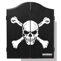 Dartcabinet Skull Black Winmau