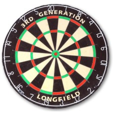 Dartboard 3rd.generation Bristle longfield