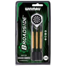 Darts Broadside Soft-tip 18gr.Brass Winmau