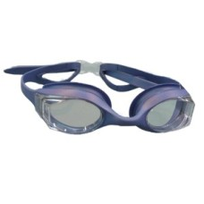 Swimming goggles Shark silver-Silicone Shallow
