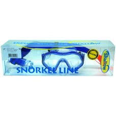 Diving-SET SMART Blue tr.SILICONE Shallow